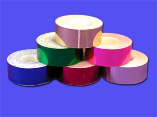 Baton Tape - Metallic Per Foot