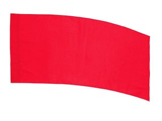 Curved Poly China Silk Flags For Tall Flag Poles