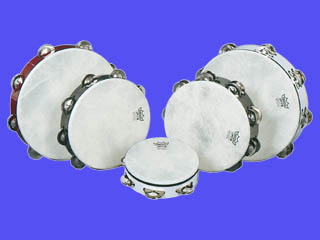 Standard Double Jingle Tambourines 10 Inch